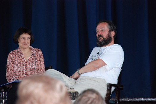Last time I was at Tavistock, with Myfanwy Cook - thanks to Chris Chapman for the photo