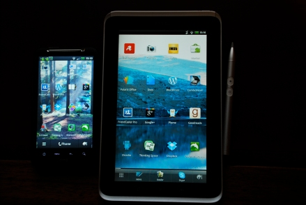 Phone and Flyer Tablet Side-by-Side