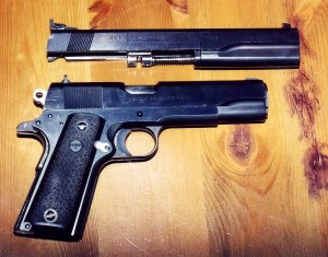 My old Colt Series 80 - lovely old beast!