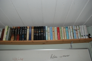 Just the novels. I've not included all the foreign ones!
