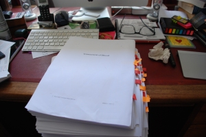 The latest proofs done. Back to trying to write again!
