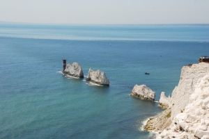 Westernmost point of the Isle of Wight - the Needles