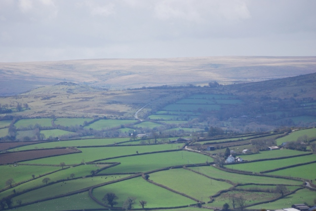 View back to the moors