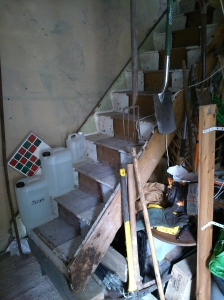 The new stairs! They fit!