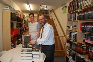 Signing with the ever wonderful Goldsboro Books