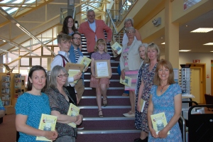 A whole lot of winners, all with the book in which their stories appear!