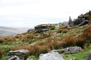North tip of Belstone Tor