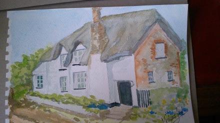 The house that inspired the books: Simon Puttock's house: West Henstill near Sandford