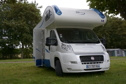 France Motorhome Hire - and no, I don't get a cent for mentioning them!