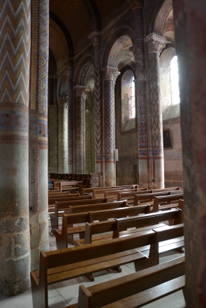 Inside the Church of Notre Dame, Poitiers