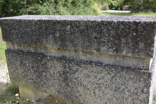 The Poitiers memorial