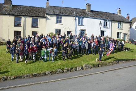The village before the off