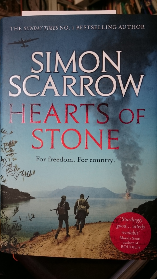 Review Hearts Of Stone By Simon Scarrow Writerlywitterings