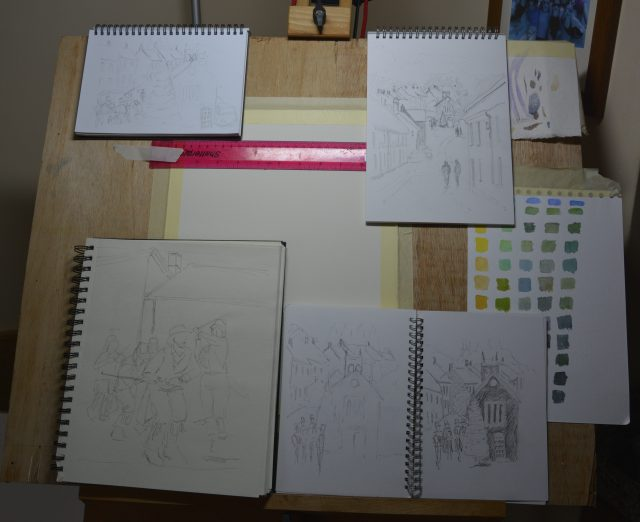 Planning Christmas card layout